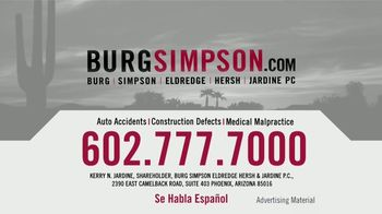 Burg Simpson TV Spot, 'Passionate About What We Do' - Thumbnail 8