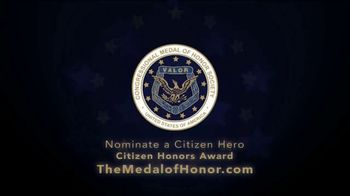 Congressional Medal of Honor Foundation TV Spot, 'Citizen Heroes' - Thumbnail 8