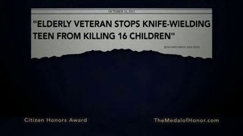 Congressional Medal of Honor Foundation TV Spot, 'Citizen Heroes' - Thumbnail 3