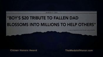 Congressional Medal of Honor Foundation TV Spot, 'Citizen Heroes' - Thumbnail 5