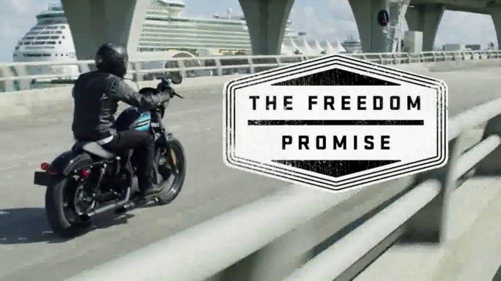 Freedom Harley Davidson >> Harley Davidson Tv Commercial Freedom Promise Sportster Ispot Tv