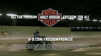 Harley-Davidson TV Spot, 'Freedom Promise: Sportster' - Thumbnail 10