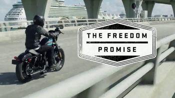 Harley-Davidson TV Spot, 'Freedom Promise: Sportster' - Thumbnail 2