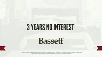 Bassett Presidents Day Sale TV Spot, 'No Interest and White Glove Delivery' - Thumbnail 2