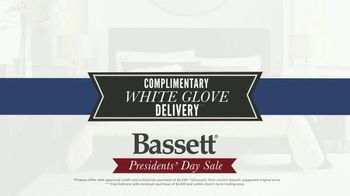 Bassett Presidents Day Sale TV Spot, 'No Interest and White Glove Delivery' - Thumbnail 4