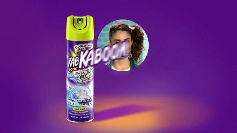 Kaboom Foam Tastic Bathroom Cleaner With Oxiclean Tv
