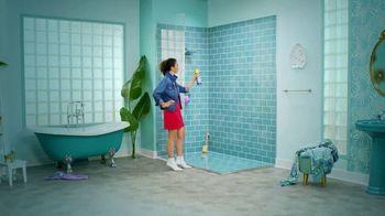 Kaboom Foam-Tastic Bathroom Cleaner with Oxiclean TV Spot, 'Shower Dance' - Thumbnail 2