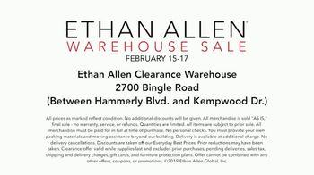 Ethan Allen Warehouse Sale TV Spot, 'Quality & Style' - Thumbnail 8