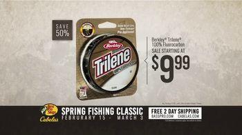 Bass Pro Shops Spring Fishing Classic TV Spot, 'Fluorocarbon Line' - Thumbnail 8