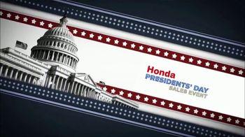 Honda Presidents Day Sales Event TV Spot, 'A Presidential Selection' [T2] - Thumbnail 9