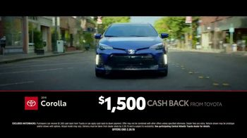 Toyota TV Spot, 'Time to Go: Camry and Corolla' [T2] - Thumbnail 6
