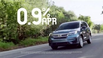Honda Presidents Day Sales Event TV Spot, 'Huge Savings on SUVs' [T2] - Thumbnail 5