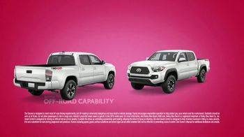 Toyota Sweetheart Deals Sales Event TV Spot, 'Swing In: Tacoma and 4Runner' [T2] - Thumbnail 3