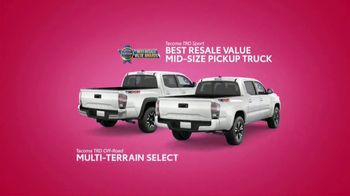Toyota Sweetheart Deals Sales Event TV Spot, 'Swing In: Tacoma and 4Runner' [T2] - Thumbnail 5