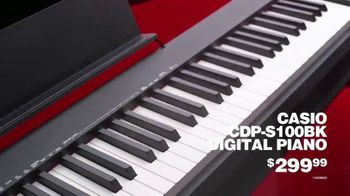 Guitar Center TV Spot, 'Presidents Day: Casio Digital Piano and JBL Monitor' - Thumbnail 4