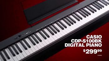 Guitar Center TV Spot, 'Presidents Day: Casio Digital Piano and JBL Monitor' - Thumbnail 5