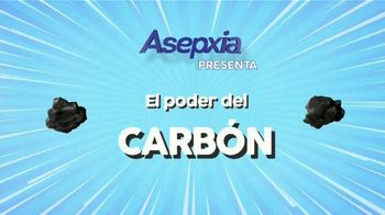 Asepxia Charcoal Purifying Effect TV Spot, 'El poder del carbón' [Spanish] - Thumbnail 1
