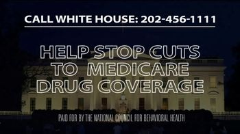 National Council for Behavioral Health TV Spot, 'Medicare Drug Coverage Cuts' - Thumbnail 10