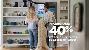 JCPenney Venta de Electrodomésticos Presidents Day TV Spot, 'Hot Deals' [Spanish] - Thumbnail 4