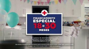 JCPenney Venta de Electrodomésticos Presidents Day TV Spot, 'Hot Deals' [Spanish] - Thumbnail 6