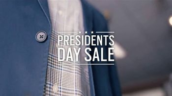Men's Wearhouse Presidents Day Sale TV Spot, 'Suits and Shirts'