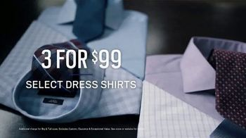Men's Wearhouse Presidents Day Sale TV Spot, 'Suits and Shirts' - Thumbnail 7