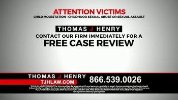 Thomas J. Henry Injury Attorneys TV Spot, 'Sexual Abuse' - Thumbnail 6