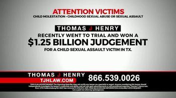 Thomas J. Henry Injury Attorneys TV Spot, 'Sexual Abuse' - Thumbnail 5