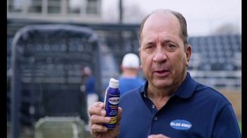 Blue-Emu Continuous Pain Relief Spray TV Spot, 'Fastball' Featuring Johnny Bench - Thumbnail 7