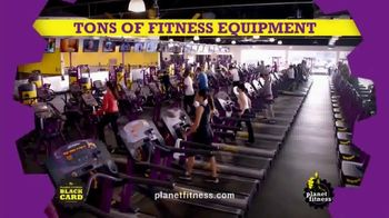 Planet Fitness 25 Cent Down Black Card Sale TV Spot, 'All the Perks' - Thumbnail 3