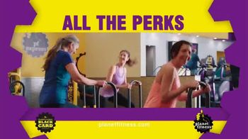 Planet Fitness 25 Cent Down Black Card Sale TV Spot, 'All the Perks' - Thumbnail 6