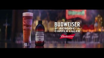 Budweiser Reserve Copper Lager TV Spot, 'The New Bud In Town' - Thumbnail 10