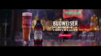 Budweiser Reserve Copper Lager TV Spot, 'The New Bud In Town' - Thumbnail 9