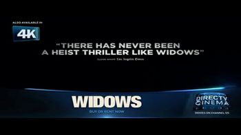 DIRECTV Cinema TV Spot, 'Widows' - Thumbnail 1