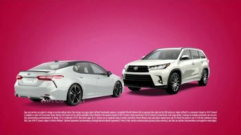 Toyota Tango Time Sales Event TV Spot, 'Swing In: Camry and Highlander' [T2] - Thumbnail 1