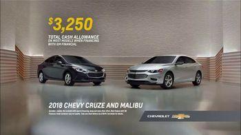 Chevrolet TV Spot, 'Seven Great Cars: 2018 Cruze and Malibu' [T2] - Thumbnail 7