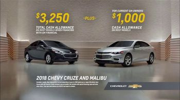 Chevrolet TV Spot, 'Seven Great Cars: 2018 Cruze and Malibu' [T2] - Thumbnail 8