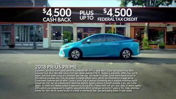 Toyota Washington's Birthday Sales Event TV Spot, 'Go Green' [T2] - Thumbnail 7