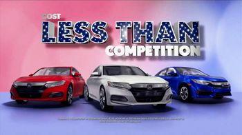 Honda Presidents Day Sale TV Spot, 'Save Today' [T2] - Thumbnail 7