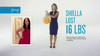 Jenny Craig Rapid Results TV Spot, 'Shiella: 85 Percent Off' - Thumbnail 1