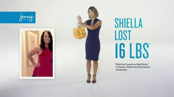 Jenny Craig Rapid Results TV Spot, 'Shiella: 85 Percent Off'