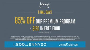 Jenny Craig Rapid Results TV Spot, 'Shiella: 85 Percent Off' - Thumbnail 5