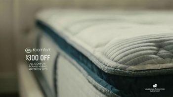 American Signature Furniture Presidents Day Mattress Sale TV Spot, 'iComfort Sets' - Thumbnail 5