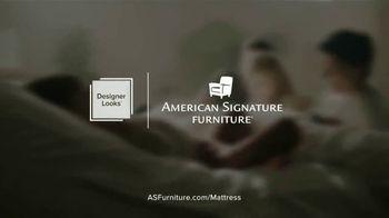 American Signature Furniture Presidents Day Mattress Sale TV Spot, 'Miracle Foam Set' - Thumbnail 8