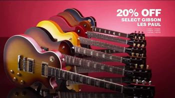 Guitar Center TV Spot, 'Presidents Day: Gibson Les Paul and Ernie Ball Strings'