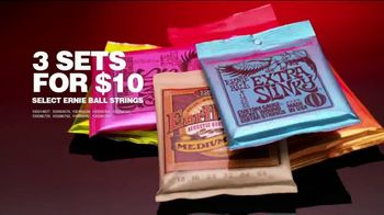 Guitar Center TV Spot, 'Presidents Day: Gibson Les Paul and Ernie Ball Strings' - Thumbnail 7