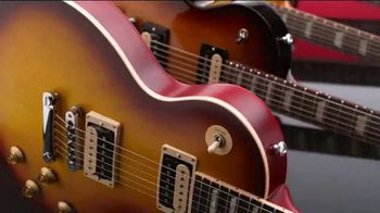 Guitar Center TV Spot, 'Presidents Day: Gibson Les Paul and Ernie Ball Strings' - Thumbnail 9