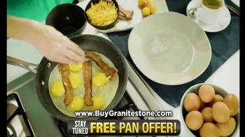 Granite Stone TV Spot, 'It Just Doesn't Stick: Free Pan' - Thumbnail 3