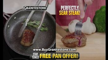 Granite Stone TV Spot, 'It Just Doesn't Stick: Free Pan'