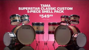 Guitar Center TV Spot, Presidents Day: Drum Set and Shell Pack' - Thumbnail 5